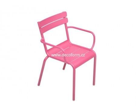 LUXEMBOURG KID židle s područkami