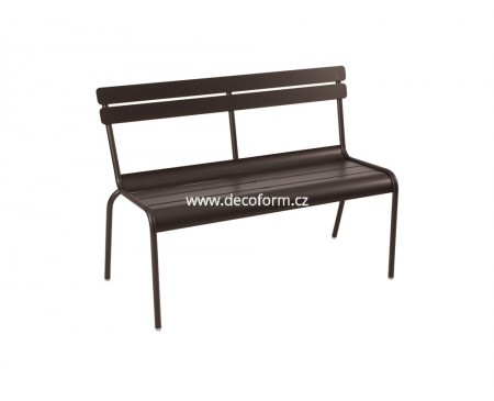 LUXEMBOURG lavice s opěradlem