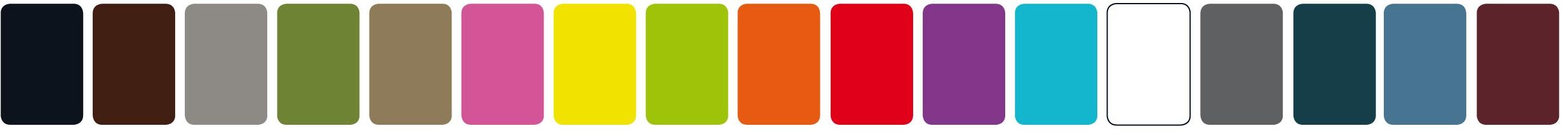 barevná řada Qui ist Paul